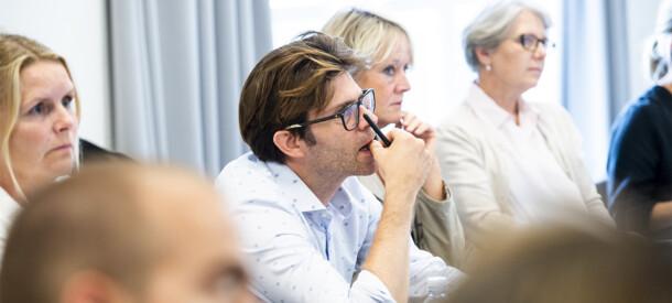 Billede af undervisningssituation på CBS Executive sommerskole