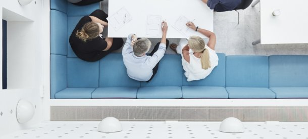 Gruppearbejde under kursus på CBS Executive, Frederiksberg