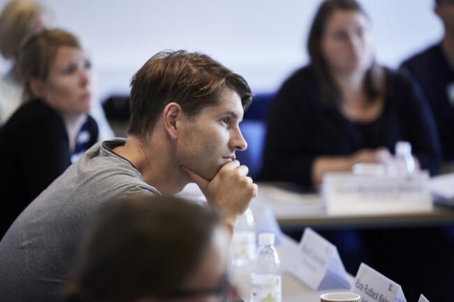 Kursusdeltager til kursus på CBS Executive, Frederiksberg