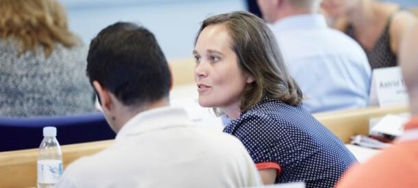 Samtale under kursus mellem kursusdeltagere