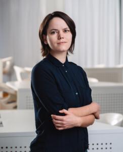 Programkoordinator Zhenya Avdeeva