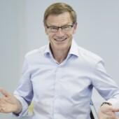 Flemming Poulfelt underviser på kursus på CBS Executive