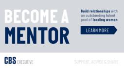 Illustration, Become a mentor, til kursus på CBS Executive
