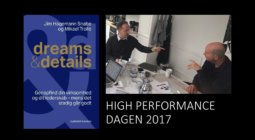 Slide 1 af Dreams and Details Power Point til kursus på CBS Executive, High Performance, Frederiksberg