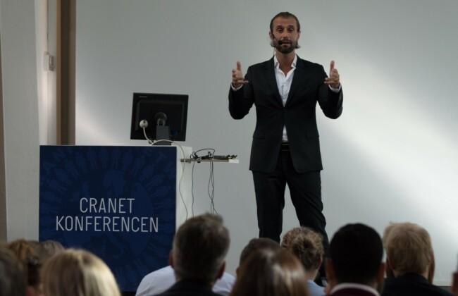 Underviser på kursus på CBS Executive, Porcelænshaven, Frederiksberg