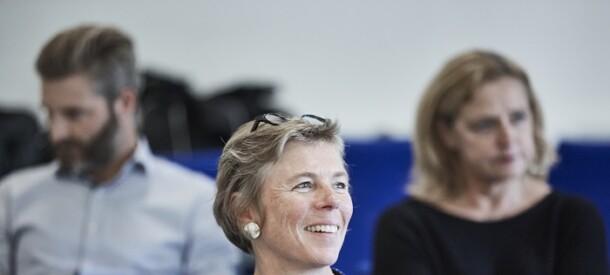 Smil under kursus på CBS Executive