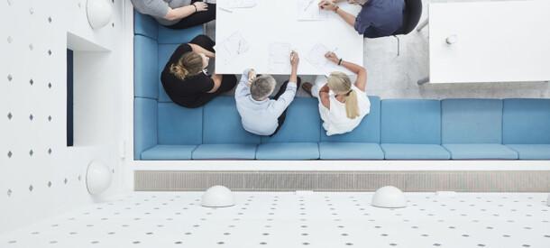 Gruppearbejde undervejes i kursus, CBS Executive, Frederiksberg