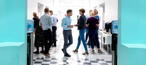 Billede af kursister på CBS Executive Sommerskole