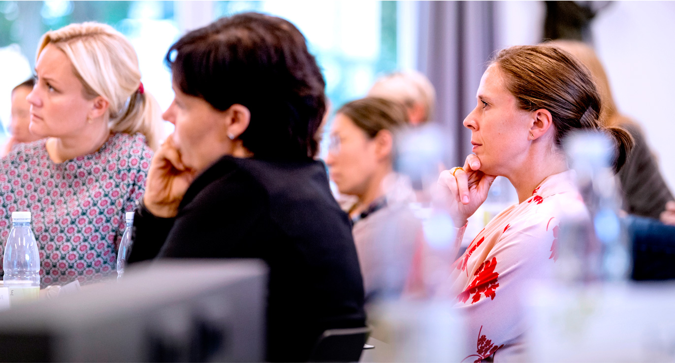 Billede af optagede deltagere til kursus hos CBS Executive