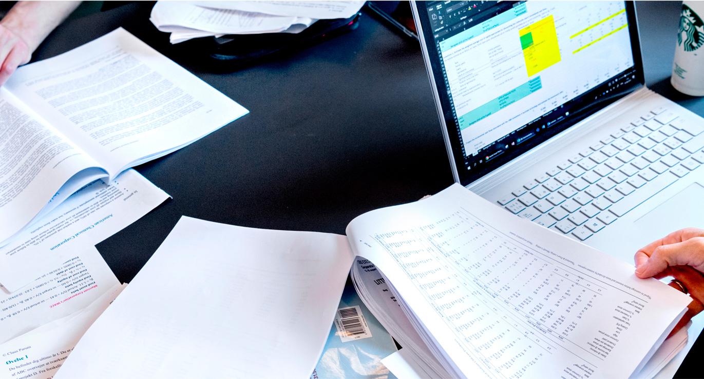 Billede af gruppearbejde i undervisningssammenhæng