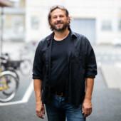 Portræt af Kasper Sørensen. Foto af Evald Munksgaard